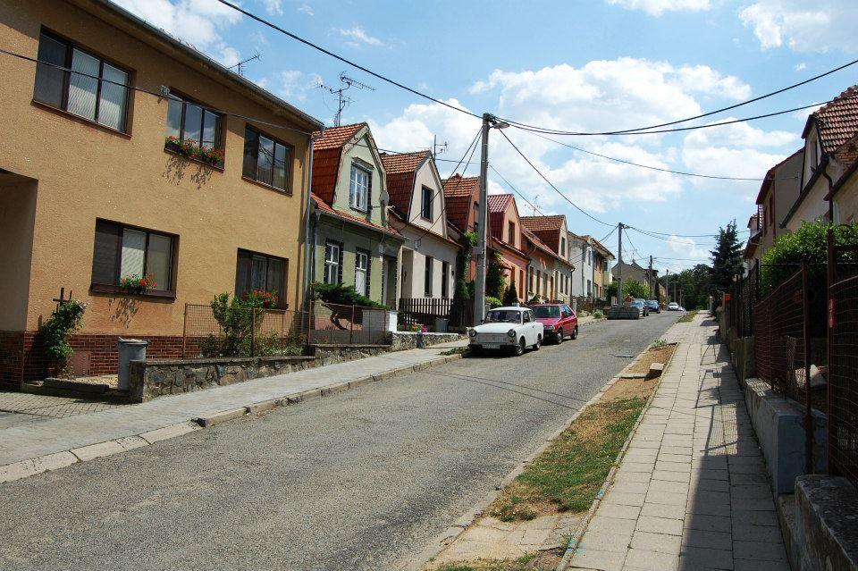 Ulice rodinných domků
